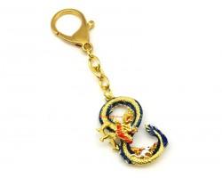 Dragon and Rat Prosperity '8' Keychain
