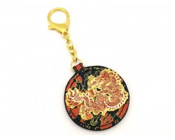 Dragon Holding Fireball Anti-Conflict Amulet
