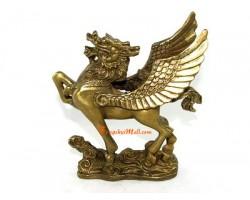 Dragon Horse with Pi Yao