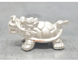 Dragon Tortoise 999 Silver Bead Charm