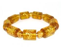 Dragon Yellow Bracelet for Success