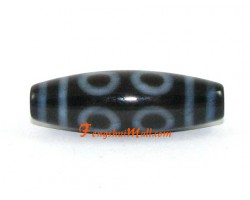 Eight Eye Tibetan Dzi Bead