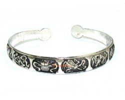 Eight Immortal Magical Objects Cuff Bracelet