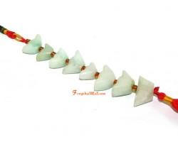 Eight Jade Ingot Hanging for Wealth Luck