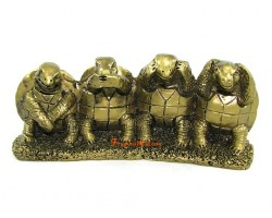See Hear Speak No Evil Tortoise