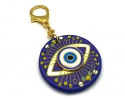 Evil Eye Anti-Jealousy Amulet Keychain