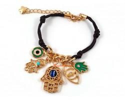 Evil Eye Hamsa Hand Fatima Palm Bracelet