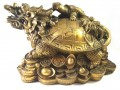 Brass Feng Shui Dragon Tortoise (XL)