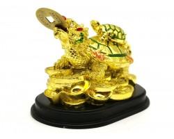 Golden Dragon Tortoise with Child