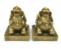 Pair of Feng Shui Pi Yao to Attract Wealth