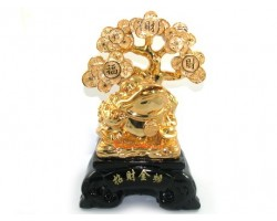Feng Shui Three Legged Toad with Money Tree