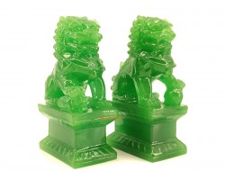Pair of Feng Shui Fu Dogs