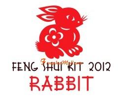Feng Shui Kit 2012 for Rabbit