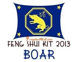 Feng Shui Kit 2013 - Horoscope Boar