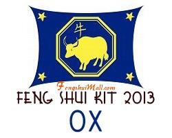Feng Shui Kit 2013 - Horoscope Ox