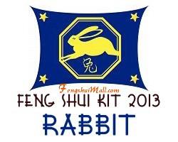 Feng Shui Kit 2013 - Horoscope Rabbit