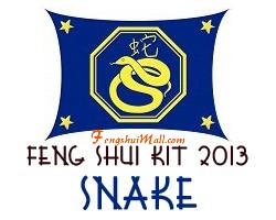Feng Shui Kit 2013 - Horoscope Snake