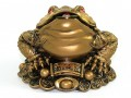 Feng Shui Good Fortune Money Frog (L)