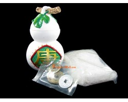 Feng Shui Wu Lou with Salt and Coins Kit