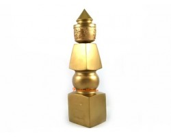 8 inch Five Element Pagoda with Fuk Luk Sau