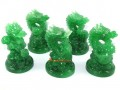 Five Good Fortune Feng Shui Dragons