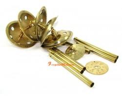 5-Tier 6-Rod Brass Windchime