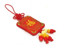 Fragrance Embroidered Good Fortune Hanging