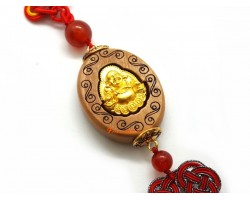 Fragrant Sandalwood Laughing Buddha Tassel