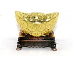 Feng Shui Gold Ingot for Wealth Luck