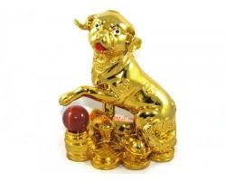 Golden Good Fortune Dog