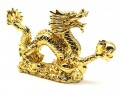 Golden Dragon Grasping Ball