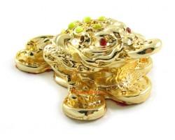 Golden Money Frog for Wealth Luck