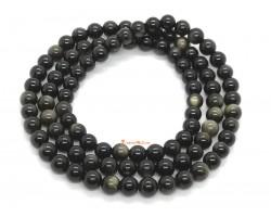 Golden Obsidian 3 Rounds Bracelet (6mm)