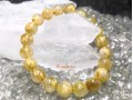Golden Titanium Rutilated Quartz Bracelet