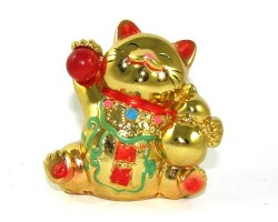 Golden Wealth Beckoning Fortune Cat