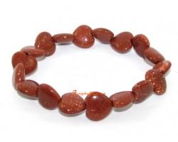 Goldsand Hearts Bracelet