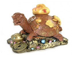 Good Fortune Feng Shui Tortoise (L)