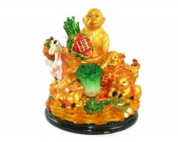 Good Fortune Monkey with Horoscope Friends