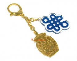 Good Income Luck Talisman Keychain