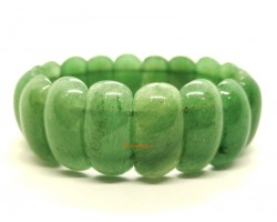 Green Aventurine Bangle Bracelet