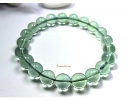 Green Fluorite Crystal Bracelet
