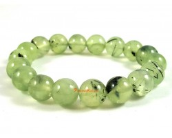 Rutilated Prehnite Bracelet