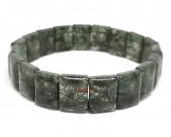 Green Rutilated Quartz Crystal Bracelet