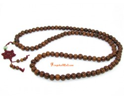Green Fragrant Sandalwood 108 Beads Japa Mala Beads