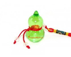 Green Crystal Wu Lou Amulet