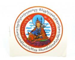 Guru Rinpoche Window Amulet Sticker (2 pieces)