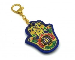Hamsa Hand Anti-Gossip Amulet Keychain