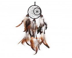 Handmade Indian-style Dream Catcher With Feathers