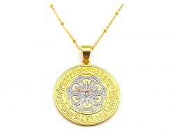 """Happiness & Wealth"" Medallion"