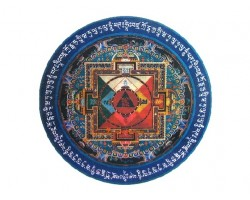 Hayagriva Mandala Sticker (2 pieces)